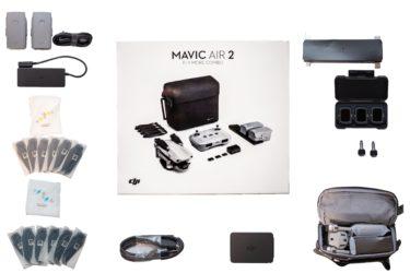【Mavic Air2】ついに届いた!(開封編) 〜付属品すべて見せます〜